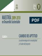 0092 La Epistemologia de La Complejidad y El Saber Del Proyecto