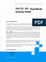 ZXSDR (V4.12) GU Dual-Mode Commissioning Guide_R1.0
