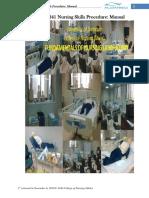 Nursing Skills Procedure Manual