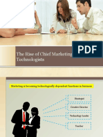 The Rise of Chief Marketing Technologists