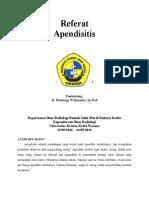 Referat Apendisitis Radiologi