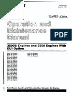 Caterpillar operation and maintenance manual