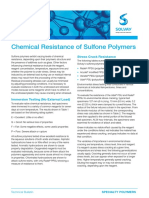 Chemical Resistance of Sulfone Polymers