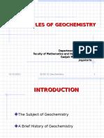 Geochemistry Slide 01