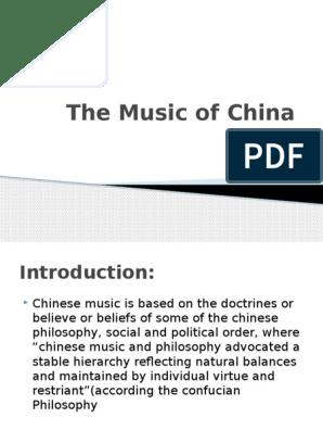 The Music of China | Songs | China