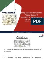 Historia de Las Maquinas y Herramientas