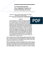 1299 the Neurothermostat Predictive Optimal Control of Residential Heating Systems