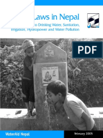 Water Laws in Nepal