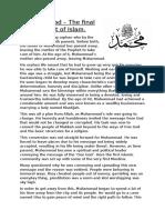 Muhammad - Factfile