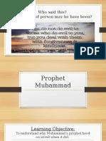 Lesson 14 - Prophet Muhammad