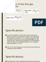 Calculation of the Flue Gas Composition
