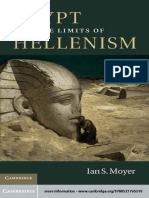 Egypt & the Limits of Hellenism-Ian S. Moyer