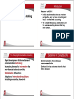 Topic 1B Accounting for Decision Making 2015