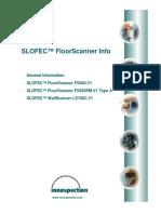 SLOFEC FloorScanner Datasheet