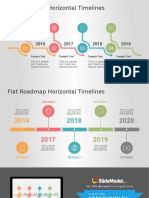 FF0094 01 Flat Roadmap Horizontal Timelines 16x9