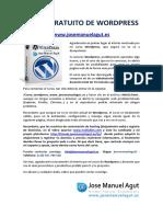 Instrucciones Curso Wordpress