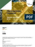 Amec Urbis Estudio Sectorial Tecnologias Urbanas