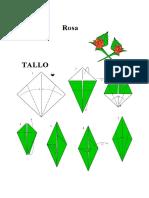 (eBook Origami) - Rosa