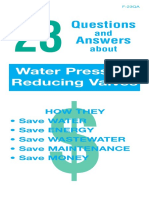 23 Questions and Answers About Water Pressure Reducing Valves