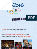 Que sabes de los Juegos Olimpicos.ppt
