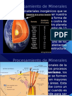 Procesaminetode Minerales Clase particular