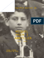 Breu Biografia Musical de MIQUEL PRIM I AMETLLER