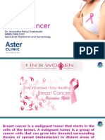 Breast Cancer Awareness-Dr.anuradha