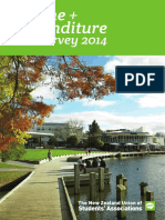 NZUSA Tertiary Student Income and Expenditure Survey 2014