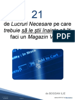21 de Lucruri Sa Le Stii Inainte Sa Iti Faci Un Magazin Virtual
