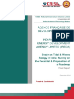 AFD Final Report Study on Tidal and Waves Energy