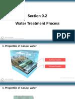 Chap 0.2 Water Treatment