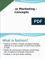 Fashion Marketing - CONCEPTS