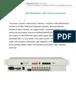 PDH multiplexer