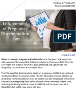 EEOC Seeks Enforcement of Pregnancy Discrimination Laws