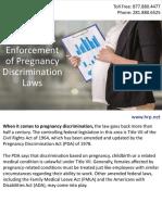 EEOC Seeks Enforcement of Pregnancy Discrimination Laws