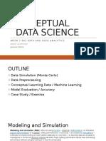 7 - Conceptual Data Science