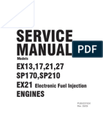 Robin EX 13 Service Manual 4.5 4.3 HP Engine