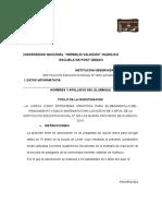 Ficha Encuesta Ludica en Inicial