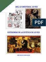 LO FREAKS, LO GROTESCO Y LO FEO APLICADO AL PROCESO CREATIVO DEL DISEÑO GRÁFICO