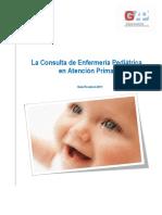 La Consulta de Enfermeria Pediatrica_Guia 2011