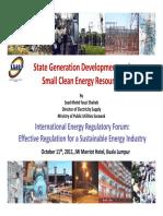 Session 2_mr Syed Fauzi_ministry of Public Utilities Sarawak Malaysia