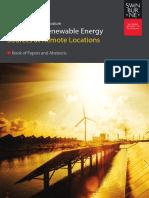 3 2014 Student Symposium on Renewable Energy