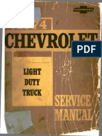 ST 330-74-1974 Chevrolet Light Truck Service Manual