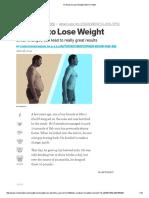 61 Ways to Lose Weight _ Men's Health