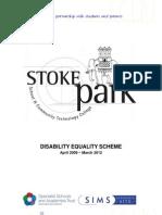 DisabilityEqualityScheme 09-12