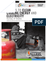 Access Clean Cooking Energy Electricity Survey States