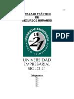Modelo de Trabajo Practico de Rrhh