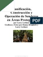 Planificación, Construcción y Operación de Senderos en Áreas Protegidas