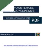 2015 - 02 - Capacitacion Uso Sistema de Recaudación (Nsr) (1)