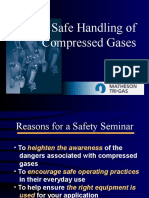 Safe Handling of Gases